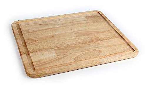 Camco - 43753-A Hardwood Cutting Board and Stove Topper With Non-Skid Backing, Includes Flexible Cutting Mat