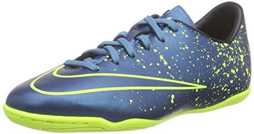 Nike Unisex-Kinder JR Mercurial Victory V IC Laufschuhe, Blau (Blue), 35.5 EU