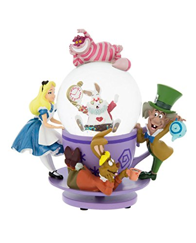 Alice Cheshire Cat 'Spinning' Snowglobe Disney in the country of Disney figures Snow Globe wonder by Disney figures Snow Globe Snowglobe Disney