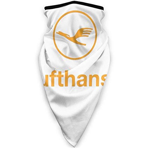 TURFED Sturmhaube Winddichte Gesichtsmaske Lufthansa Airline Symbol Logo Bandanas Schutzgesicht Anti Staubverschmutzung Hals Gamasche Outdoor