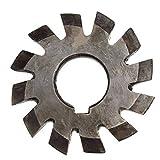 SUCAN M2.5 Diámetro del agujero 22 mm # 1-8 Cortadora de fresado de engranajes intrincados HSS 20 grados - # 6