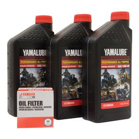 Yamalube Oil Change Kit 10W-40 for Yamaha GRIZZLY 660 4x4 2002-2008
