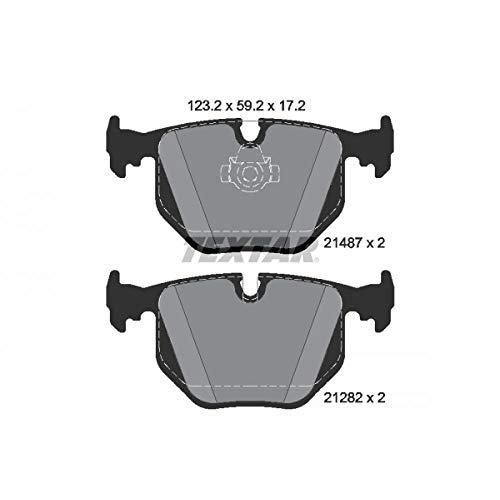 TEXTAR Bremsbelagsatz für Scheibenbremse , epad, 2148781