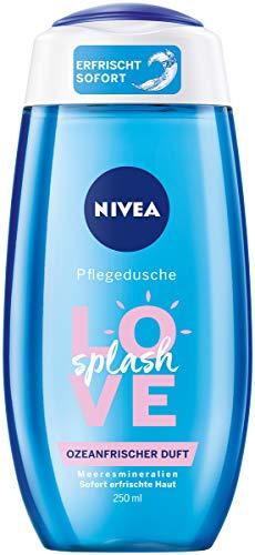 NIVEA Pflegedusche Love Splash, erfrischendes Duschgel mit Meeresmineralien, pflegende Dusche mit ozeanfrischem Duft, 6er Pack (6 x 250 ml)