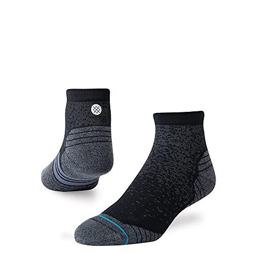 Stance Run Qtr St Socks (Large, Black)