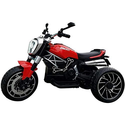 ESGT Coche eléctrico para niños Moto eléctrica para niños Hombres y Mujeres...
