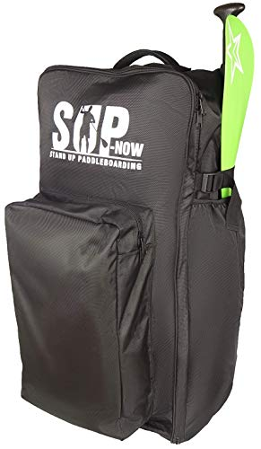 SUP-Now Inflatable Paddleboard Backpack (Black)
