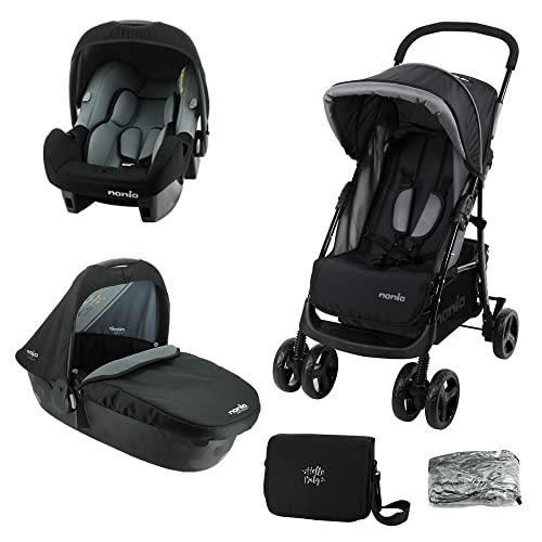 Silla de paseo TEXAS para niños de 6 a 36 meses - Con posición reclinada (Con accesorios)