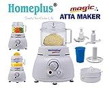 Homeplus Magic Atta Maker (White, homeplus Atta Kneader)