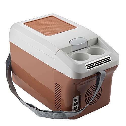 WWDKF Nevera Pequeña, Mini Refrigerador para Automóvil De 15 litros, Uso Dual Hogar/Automóvil, Uso Dual Frío Y Caliente, Adecuado para El Cuidado De La Piel, Alimentos, Leche Materna Y Bebidas