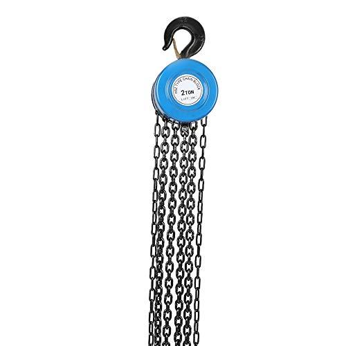 Polipasto manual de bloque de cadena 2T con capacidad de 3M de altura de elevación...