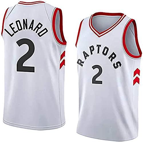 XSJY Ropa De Baloncesto De Los Hombres - Camiseta De Baloncesto De Verano NBA # 33 Kawhi Leonard Fan Edition Jersey Classic Bordada Sin Mangas Top,B,S:165~170cm/50~65kg