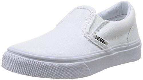 Vans Boys' Classic Slip-On (Tod/YTH) - True White - 3 Youth