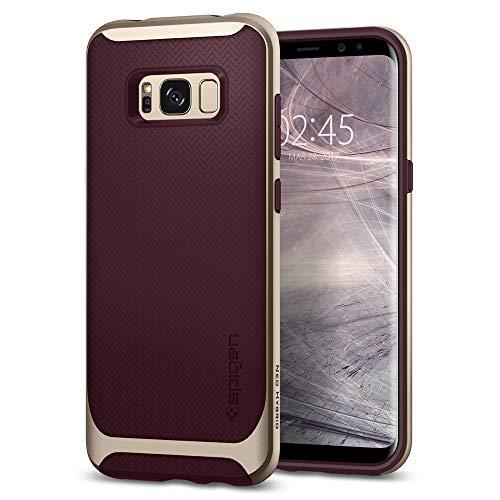 Spigen Neo Hybrid Hülle Kompatibel mit Samsung Galaxy S8 -Burgundy