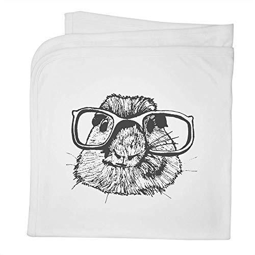 Azeeda 'Maulwurf mit Brille' Babydecke / Schal aus Baumwolle (BY00000527)