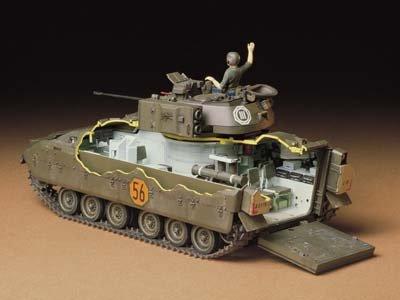 タミヤ 1/35 ミリタリーミニチュアシリーズ No.132 アメリカ陸軍 M2ブラッドレー 歩兵戦闘車 プラモデル35132