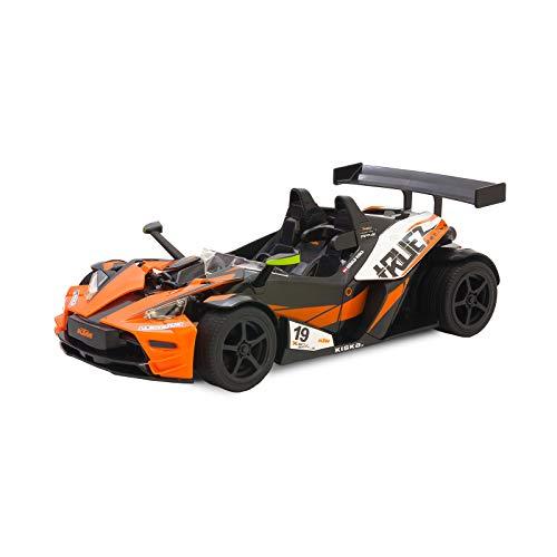 Kidz Tech - kompatibel mit KTM X-Bow RR Ferngesteuertes Rennwagen - Offizielle Lizenz - KTM RC 2,4 GHz - Batterie und mitgelieferte Batterien - Wiederaufladbar - Orange Farbe - Maßstab 1/14