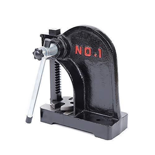 1 Ton Arbor Press, 298mm Manual Desktop Punch Press Machine Metal Arbor Press Tool
