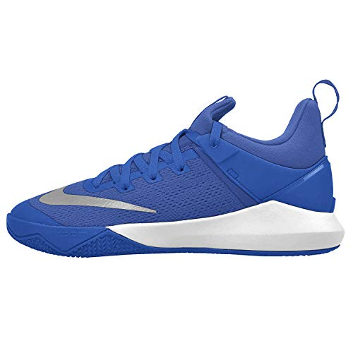 Nike Men's Zoom Shift Game Royal/White Nylon Basketball Shoes, 12.5 M US