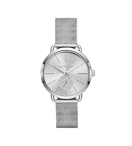 Michael Kors dames analoog kwarts horloge met roestvrij stalen armband MK3843