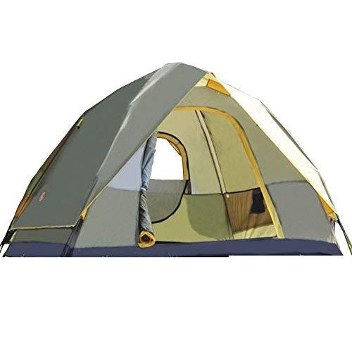 Jie Guo Outdoor-producten buitenshuis voor 3 tot 4 personen automatisch openen tenten, polyester waterdicht ademend, anti-muggeno, wind en betrouwbaar, draagbare outdoortent