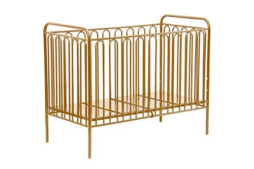 Polini Kinderbett Gitterbett Babybett Metall 'Gold' Metall