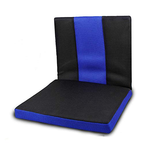 NACHEN Wheelchair Cushion Anti-Decubitus Back Cushion, for Pain Relief of Back Pain, Sciatica, for Wheelchair Users and Everyday Use