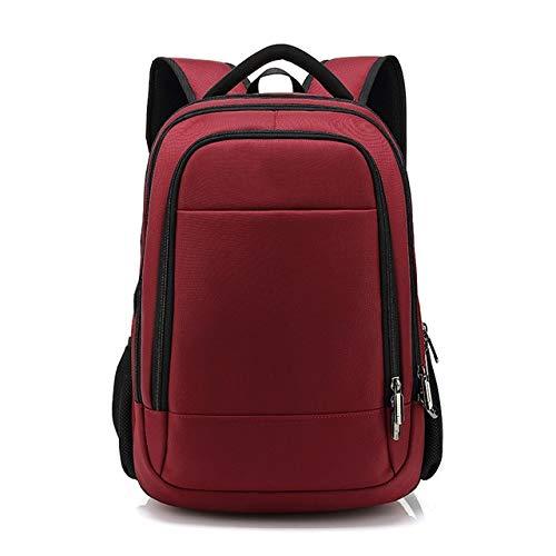 QWKZH Casual Daypacks Anti diefstal Rits 15.6 inch Mannen School Laptop Rugzakken Waterafstotend Reizen 20L Multi USB Oplader Man Mochila