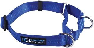 Canine Equipment Technika 3/4-Inch Webbing Martingale Dog Collar, Small, Blue