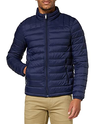 Dockers Lightweight Nylon Packable Jacket Chaqueta, Pembroke, L para Hombre