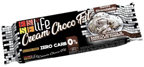 Esselife Cream Choco Fit Protein Bar 0% carb