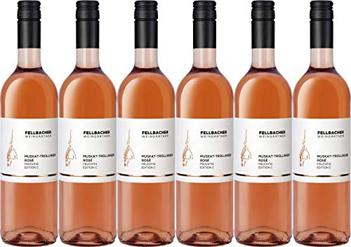 Fellbacher eG Muskat-Trollinger Rosé C 2020 (6 x 0.75 l)
