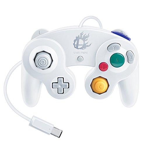 Nintendo Super Smash Bros. White Classic Gamecube Controller