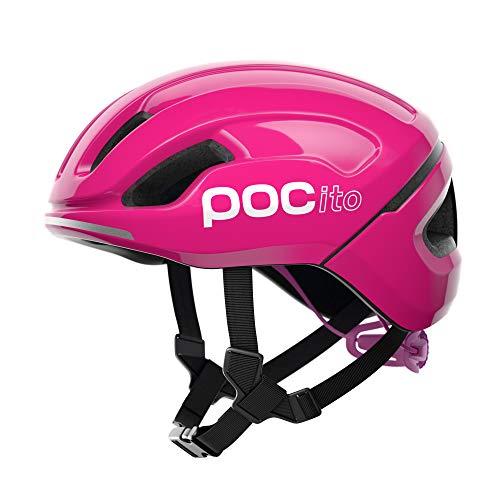 POC POCito Omne SPIN Casco Ciclismo Unisex Adulto, Rosado Fluorescent Pink, XSM