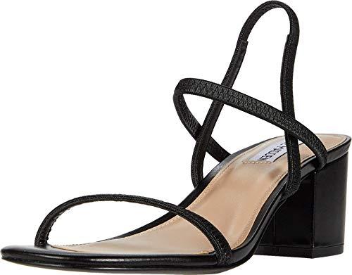 Steve Madden Women's Inessa Heeled Sandal, Black, 10