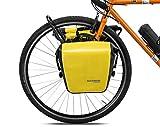 ROCKBROS Gepäckträgertasche 100% wasserdichte Hinterradtasche Satteltasche für Gepäckträger Vorne/Hinten Fahrradtasche 12-16L