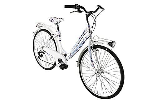 Alpina Bike Kariba, Bicicletta da Ragazza, Bianco, 26