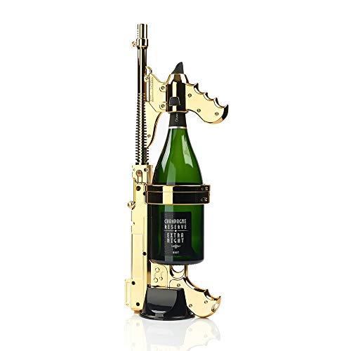 Sacacorchos Máquina De Tiro De Pistola De Champán Con Espray De Botella De Vino De Colores De Oro Rosa De Plata Dorada