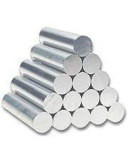TEN-HIGH Varilla de aluminio,Varilla de aleación de aluminio 6061 Longgitud 200,500mm