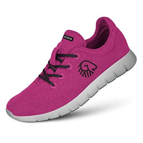 GIESSWEIN Woll-Sneaker Merino Runners Women - Atmungsaktive Sneaker für Damen aus 100% Merino Wolle, Sportliche Schuhe, Halbschuh, Freizeitschuh, Damenschuhe