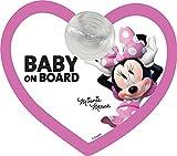 Disney Minnie Segnale Auto Baby On Board Minnie Topolina Attacco A Ventosa - 500 g