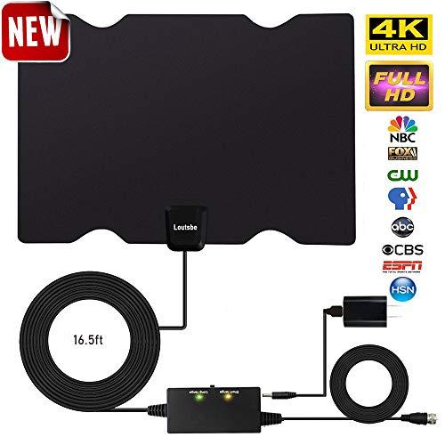 Loutsbe Amplified HD Digital TV Antenna,Indoor HDTV Digital...