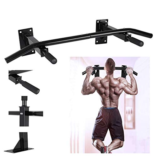 Affordable MORECON US Fast Shipment Pull Up Bar, Chin Up Bar Locking Wall Door Pullup Bar Chin Up Ba...