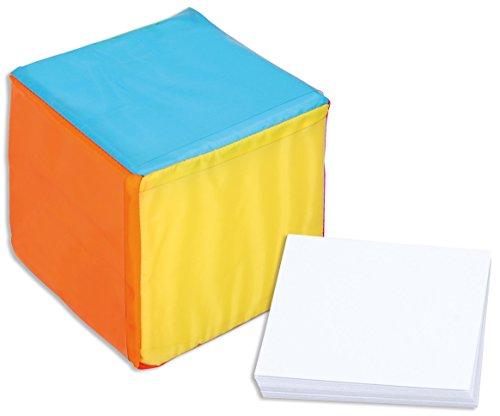 Betzold 757053 - Taschenwürfel mit Blankokarten - Pocketcube Bewegungswürfel Erzählwürfel