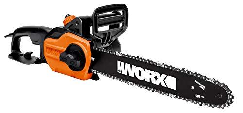 Worx WG305E Kettensäge, 1100 W, 25 cm, Schwarz
