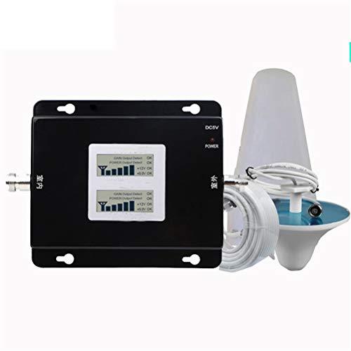 Liberación Amplificador De Señal 850 1700/2100 Y 850 1900 Teléfono Móvil 2G 3G 4G Repetidor Banda Celular 2 Bandas 4 Bandas 5 Amplificación De Banda Dual (Color : 850 1900 B5 B2)