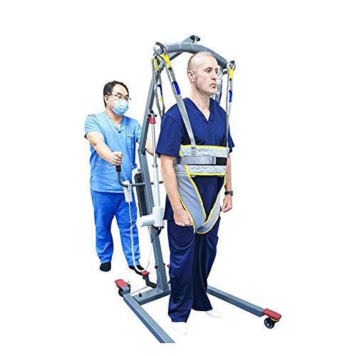 GVFKGD Eslinga médica Honda de Entrenamiento para Caminar, Arnés Respirable De Paciente De Cuerpo Completo, Eslinga De Elevación con para Paciente y Minusválido,XL