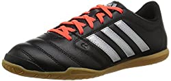 adidas Men's Gloro 16.2 indoor football boots, Black (Core Black / Silver Metallic / Solar Red), 46 EU