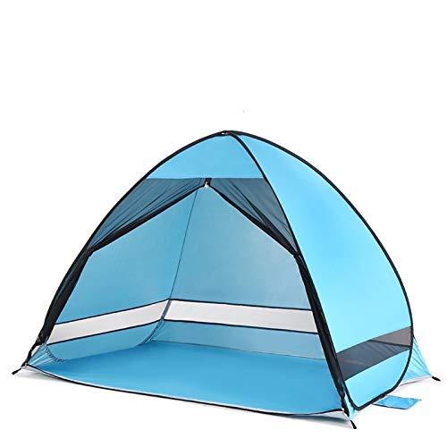 SZTUCCE Automático Instante Pop Up Beach Tent Lightweight Outdoor UV Protección Camping Pesca Tienda Cabana Sun Shelter Pesca Tent Tents Blackout Tienda Camping (Color : Sky Blue)