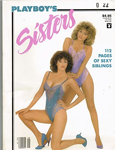 Playboy's Sisters Single Issue Magazine – August 31, 1986 9 This Magazine Little damage cover)
